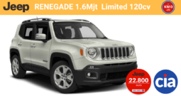 Jeep RENEGADE 1.6Mjt Limited 120cv